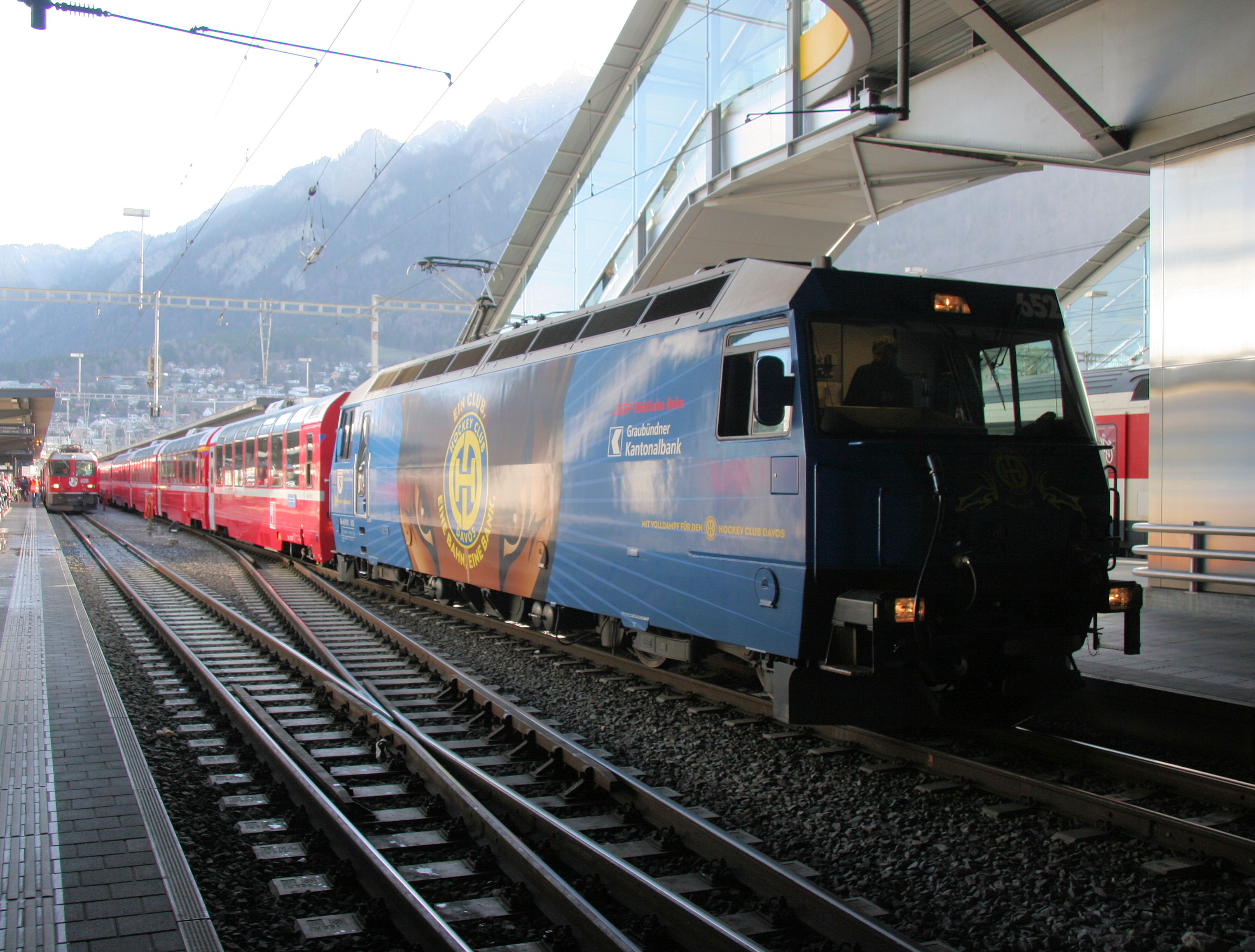 So we bought ourselves a Swiss Railpass...